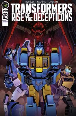Transformers (2019) (Comic Book) #20