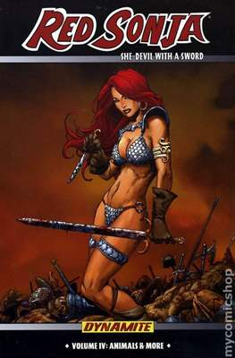 Red Sonja. She-Devil with a Sword (Hardcover) #4