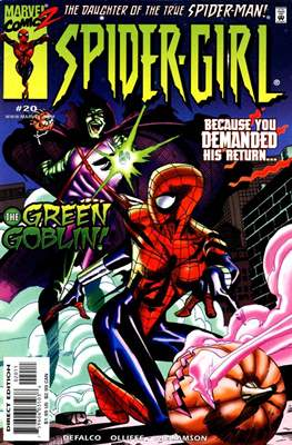 Spider-Girl vol. 1 (1998-2006) (Comic-Book) #20
