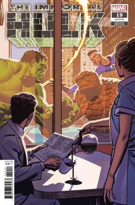 The Immortal Hulk (2018- Variant Cover) (Comic Book) #19