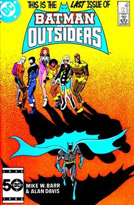 Batman and the Outsiders (1983-1987) (Comic Book) #32