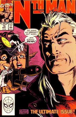 Nth Man (Comic-book) #16