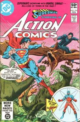 Action Comics Vol. 1 (1938-2011; 2016-) (Comic Book) #516