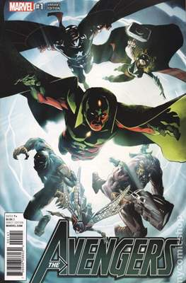 The Avengers Vol. 7 (2016-...Variant Covers ) (Grapa) #1.1