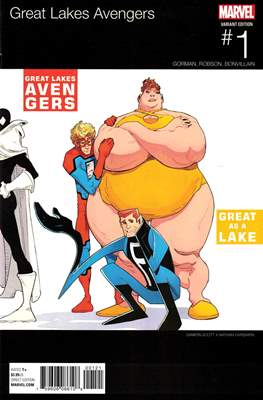 The Great Lakes Avengers Vol. 2 (Variant Covers) #1.2