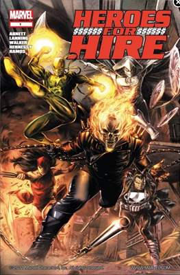 Heroes For Hire (Vol.3)