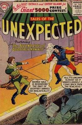 Tales of the Unexpected (1956-1968) (Comic Book) #5