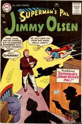 Superman's Pal, Jimmy Olsen / The Superman Family (Comic Book) #18