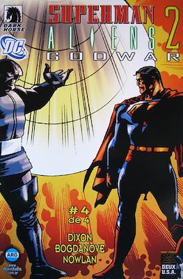 Superman / Aliens 2 Godwar (Grapa) #4