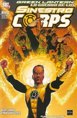 Green Lantern. La guerra de los Sinestro Corps (Grapa 96 pp) #1