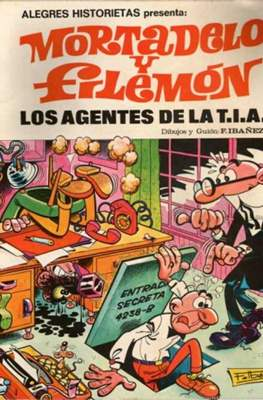 Alegres historietas. Mortadelo y Filemón (Rústica) #3