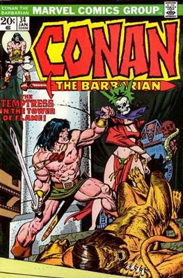 Conan The Barbarian (1970-1993) (Comic Book 32 pp) #34
