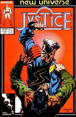 Justice. New Universe (1986) #7