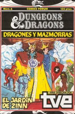 Dungeons and dragons. Dragones y mazmorras #6
