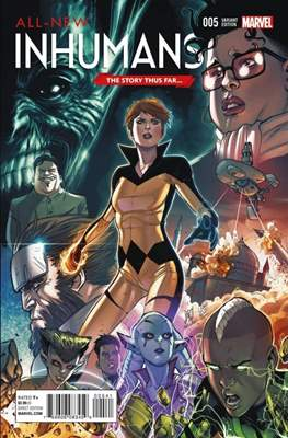 All-New Inhumans (Variant Cover) #5.1