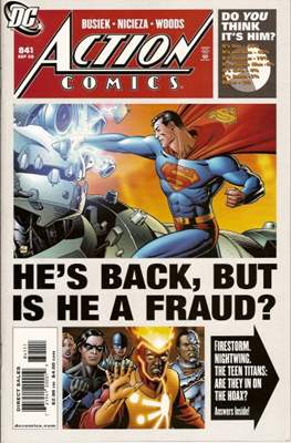 Action Comics Vol. 1 (1938-2011; 2016-) (Comic Book) #841