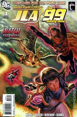 JLA / The 99 (2010) (Comic Book) #3