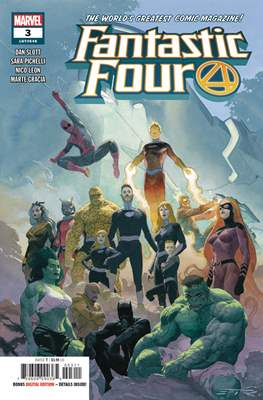 Fantastic Four Vol. 6 (2018-...) (Comic Book) #3