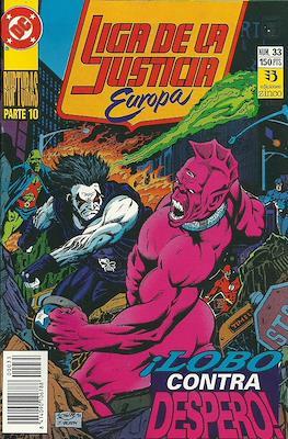 Liga de la Justicia Europa (1989-1992) (Grapa) #33