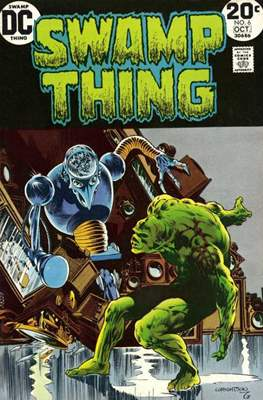 Swamp Thing (1972 1st Series) (Comic Book. 1972 - 1976) #6