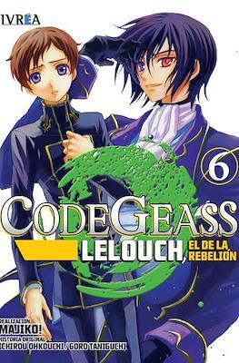 Code Geass: Lelouch, El de la Rebelión (Rústica con sobrecubierta) #6