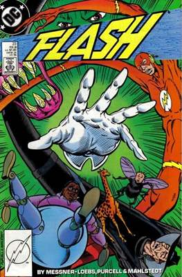 The Flash Vol. 2 (1987-2006) (Comic Book) #23