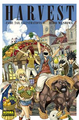Harvest - Fairy Tail Illustrations II (Rústica) #