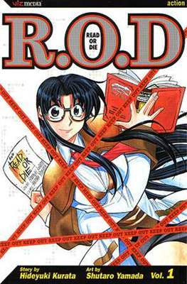 R.O.D.: Read or Die (Paperback) #1