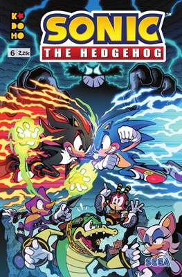 Sonic The Hedgehog (Grapa 24 pp) #6