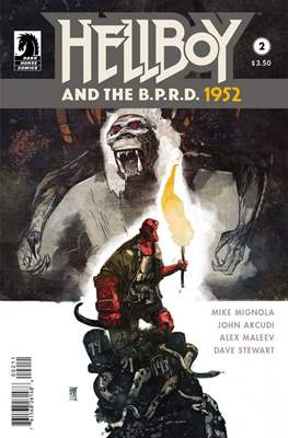 Hellboy and the B.P.R.D. (Comic-book) #2