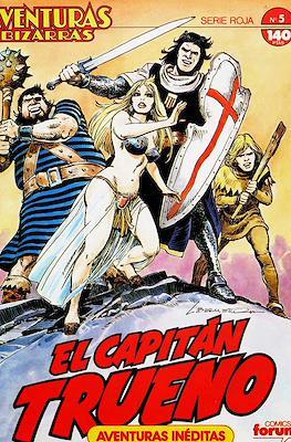 Aventuras Bizarras. El Capitán Trueno. Serie Roja (Grapa, 28 páginas) #5