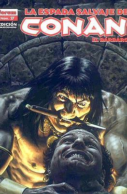 La Espada Salvaje de Conan el Bárbaro. Edición coleccionistas (Rústica 64 pp) #27