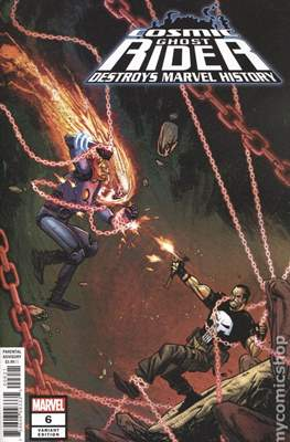 Cosmic Ghost Rider Destroys Marvel History (2019 - Variant Cover) (Comic Book) #6