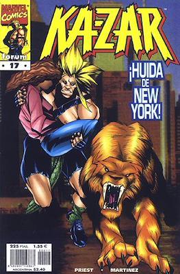 Ka-Zar (1998-1999) (Grapa. 17x26. 24 páginas. Color.) #17
