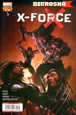 X-Force Vol. 3 (2008-2011) (Grapa, 24-48 pp) #25