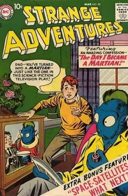 Strange Adventures (Comic Book) #90