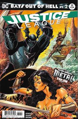 Justice League Vol. 3 (2016-2018) (Comic-book) #32