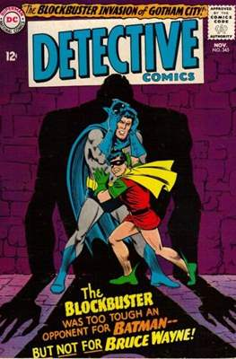 Detective Comics Vol. 1 (1937-2011; 2016-) (Comic Book) #345