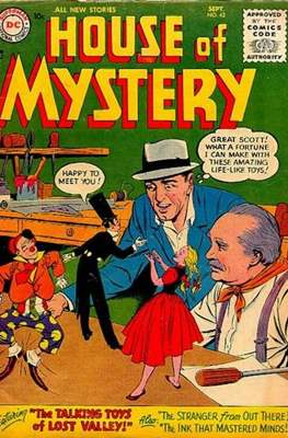 The House of Mystery (Comic Book) #42