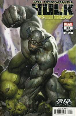 The Immortal Hulk (2018- Variant Cover) (Comic Book) #22