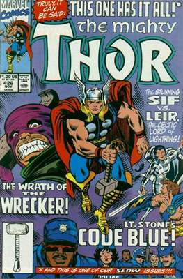 Journey into Mystery / Thor Vol 1 (Comic Book) #426