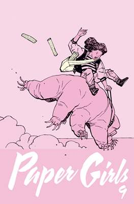 Paper Girls (Grapa 32 pp) #9