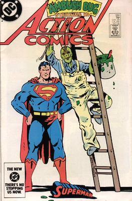 Action Comics Vol. 1 (1938-2011; 2016-) (Comic Book) #560