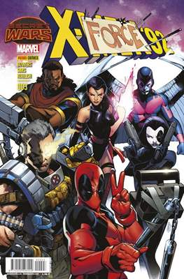 X-Men '92 (2015-2016) (Grapa 24 pp) #3