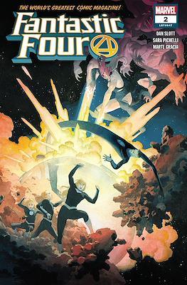 Fantastic Four Vol. 6 (Comic Book) #2