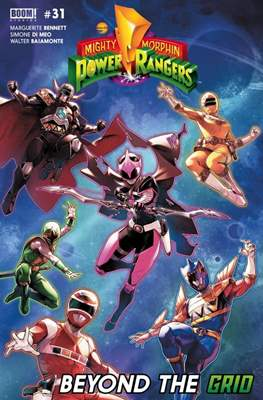 Mighty Morphin Power Rangers (Comic Book) #31