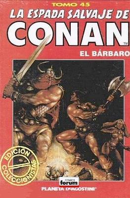 La Espada Salvaje de Conan el Bárbaro. Edición coleccionistas (Rojo) #45