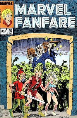 Marvel Fanfare Vol 1 (Comic-Book) #25