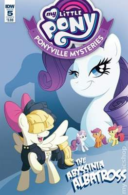 My Little Pony: Ponyville Mysteries (Variant Cover) (Comic Book) #5