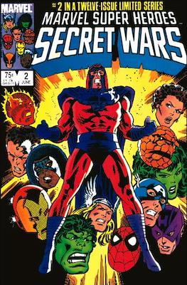 Marvel Super Heroes Secret Wars (Comic Book) #2